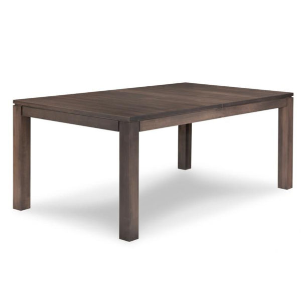 made in canada contempo harvest table with leaves