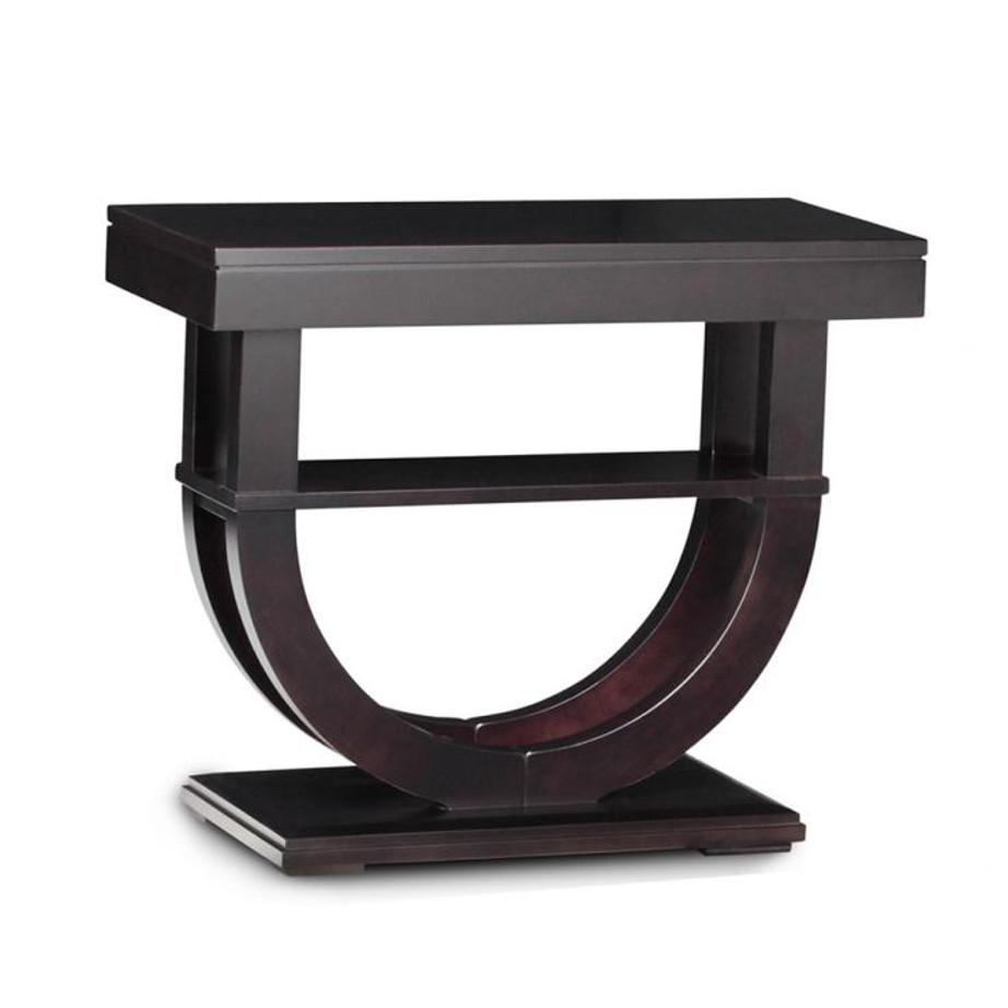 Contempo Pedestal Sofa Table Home Envy Edmonton