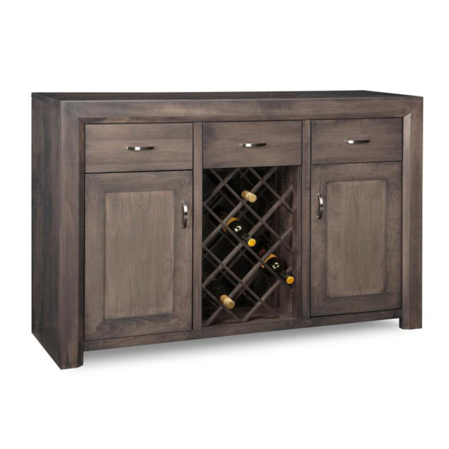 Contempo Wine Sideboard Home Envy Furnishings Solid Wood Furniture Store