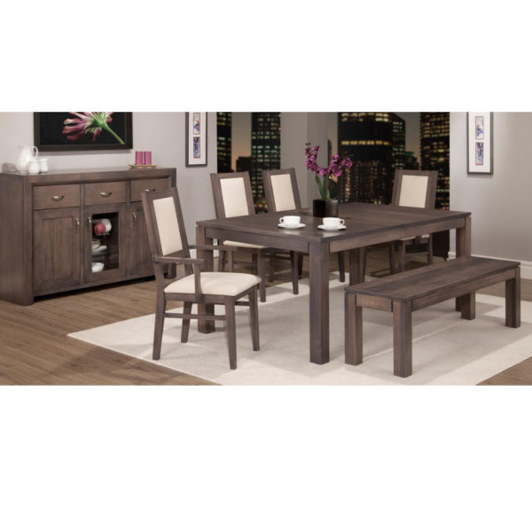 Contempo Leg Table Home Envy Furnishings Solid Wood Furniture Store