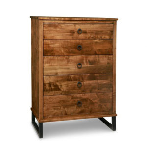 solid rustic wood canadian made cumberland chest of drawers