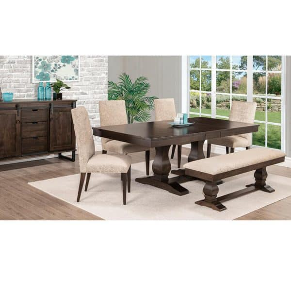 mennonite made in canada solid wood cumberland dining room suite