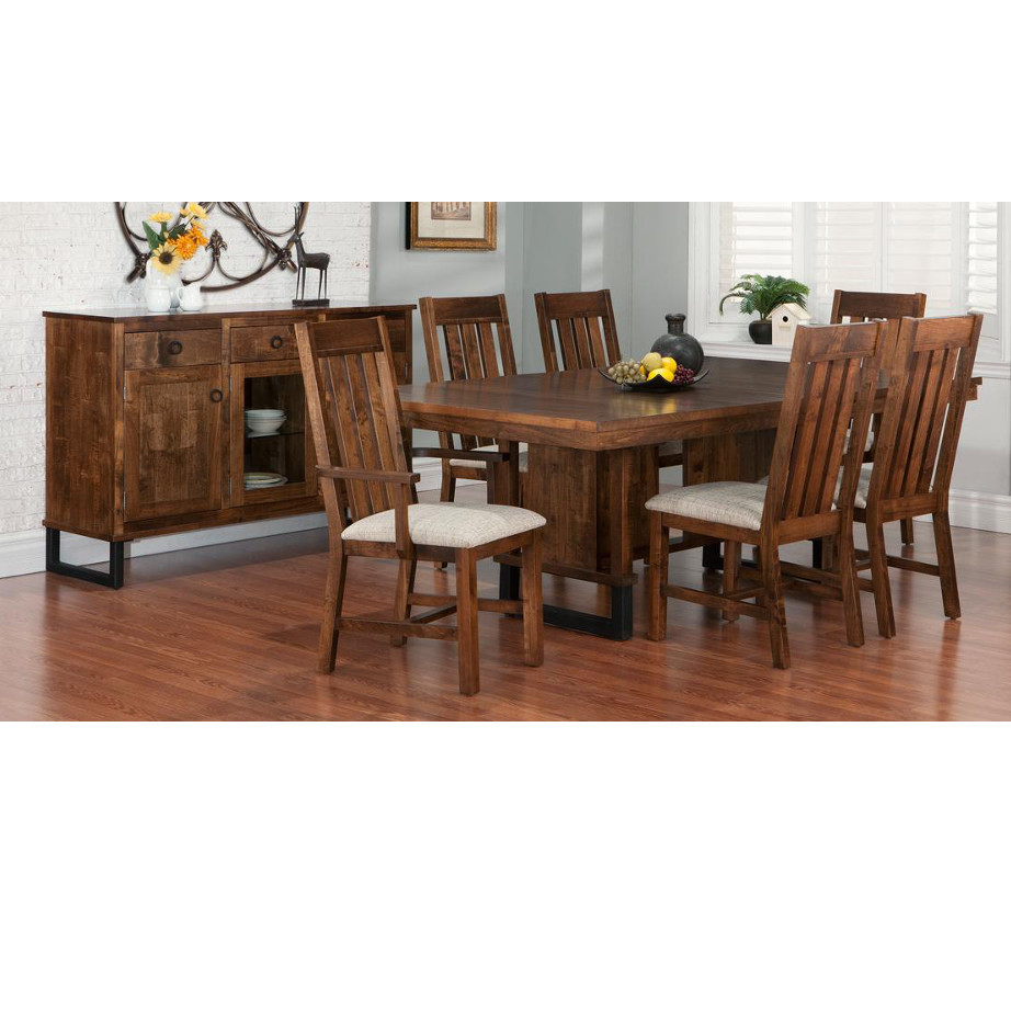 Cumberland Trestle Table Home Envy Furnishings Solid