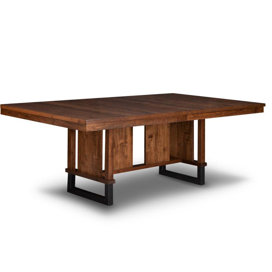 Cumberland Trestle Table Home Envy Furnishings Solid Wood Furniture Store