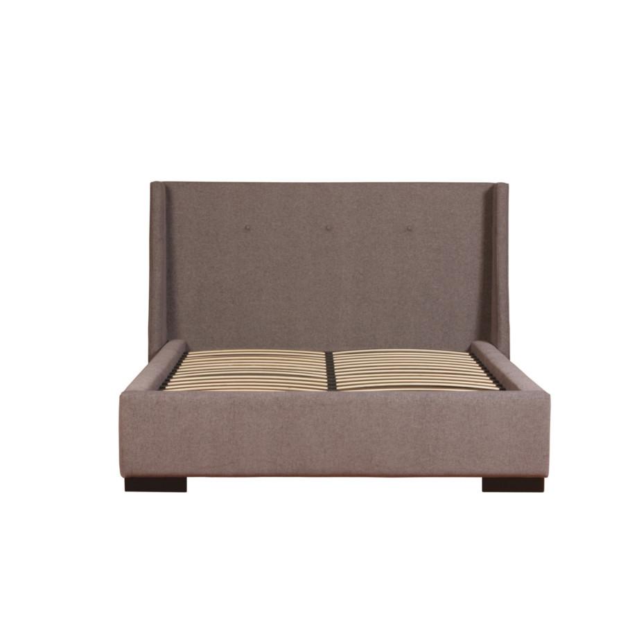 ella upholstered bed home envy furnishings solid wood furniture store. Black Bedroom Furniture Sets. Home Design Ideas