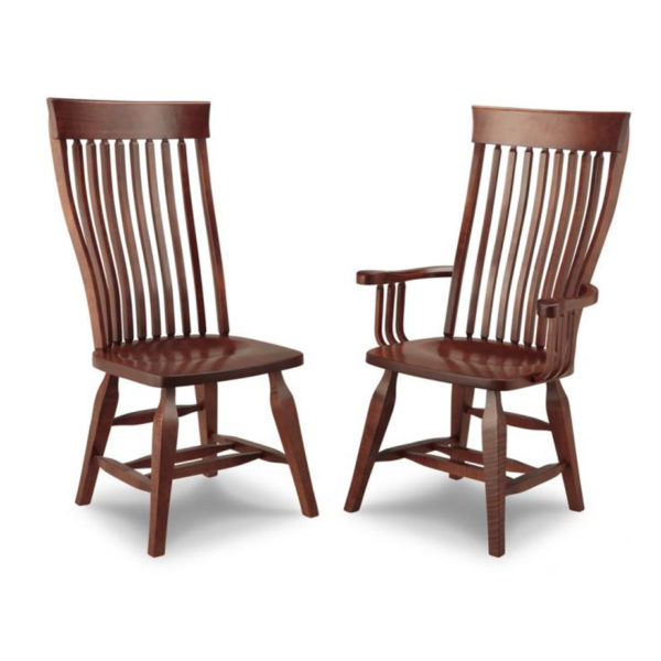 traditional farmhouse canadian made florence wood chair