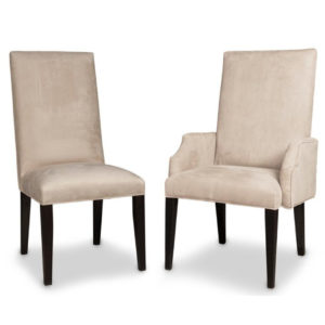 made in canada classic parsons chair with captain chair option