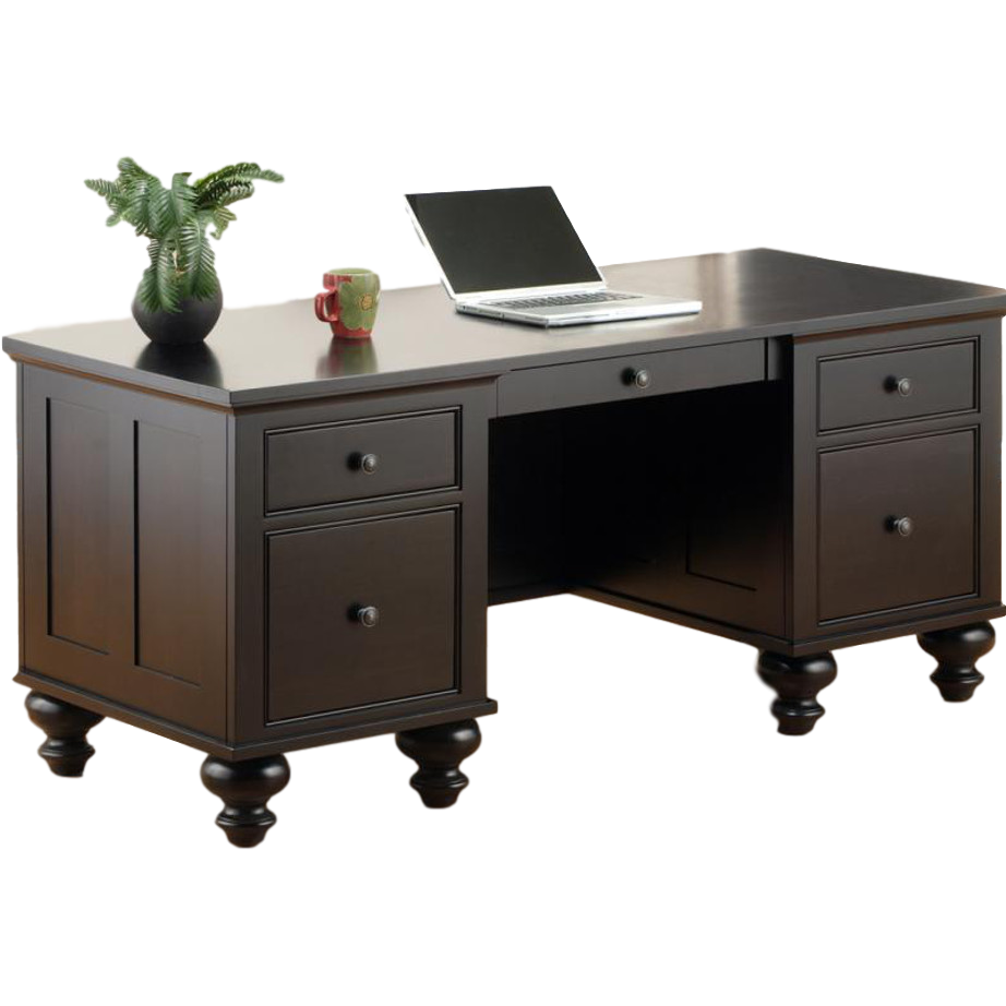 Georgetown Executive Desk Home Envy Furnishings Solid