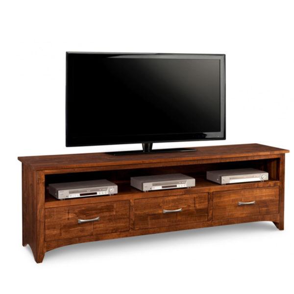 long custom length on the solid wood glen garry tv console