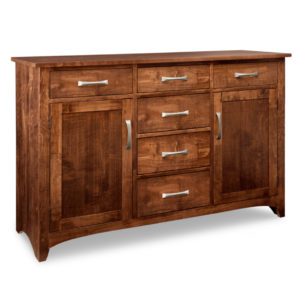 solid wood glen garry sideboard with custom distressed finishing