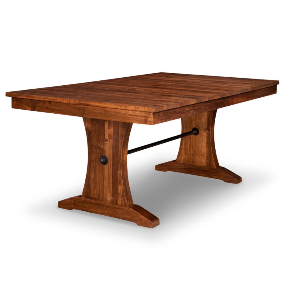 Glen Garry Trestle Table Home Envy Furnishings Solid
