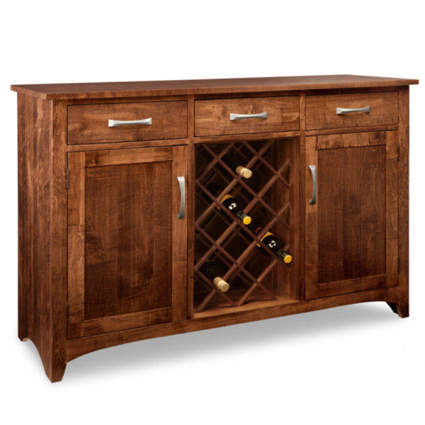 canadian made by the mennonites glen garry wine sideboard