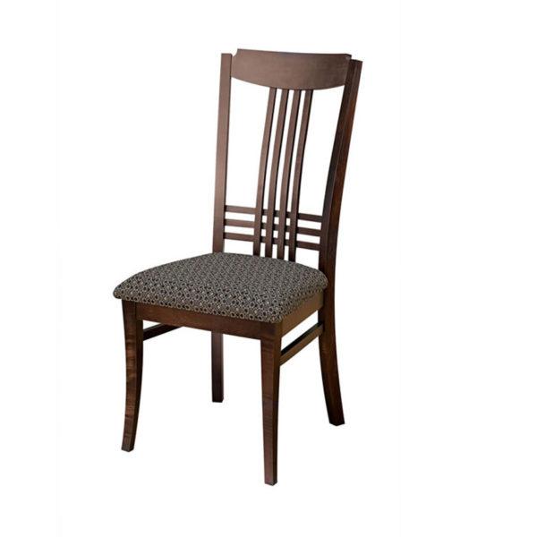 hampton dining chair, dining room, dining chair, custom, custom furniture, custom built, solid wood, wood, solid maple, solid oak, maple, oak, upholstered, upholstered seat, upholstered dining chair, fabric seat, wooden seat