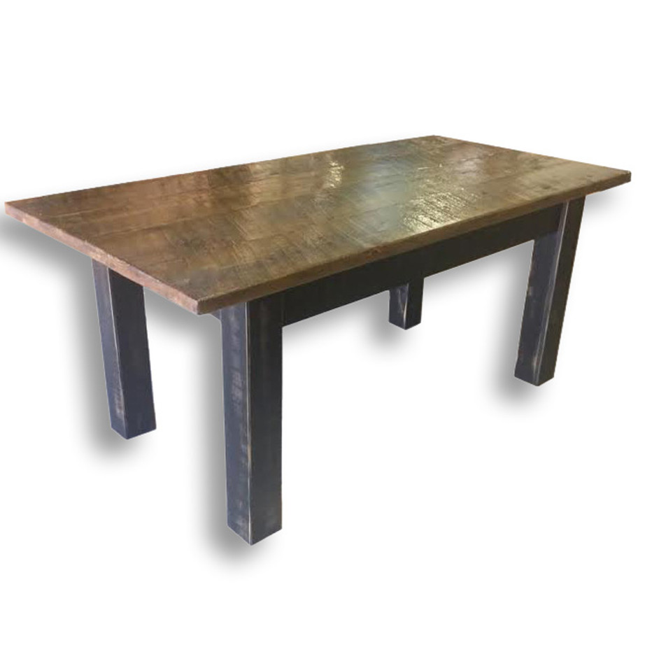 Farmhouse Harvest Table Home Envy Furnishings Solid Wood Furniture Store