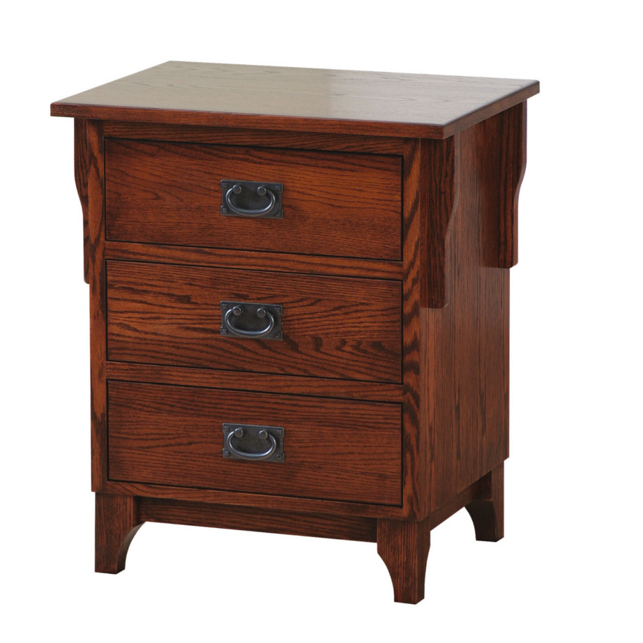 Heirloom Mission Night Stand - Home Envy Furnishings: Solid Wood ...