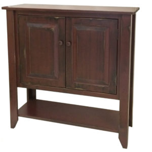 Kingsmere Console, furniture, pine, storage ideas, storage, solid wood, made in Canada, Canadian made, rustic, rustic look, shelves, paint, cabinet, dining room, display, cupboard, shelf, stain