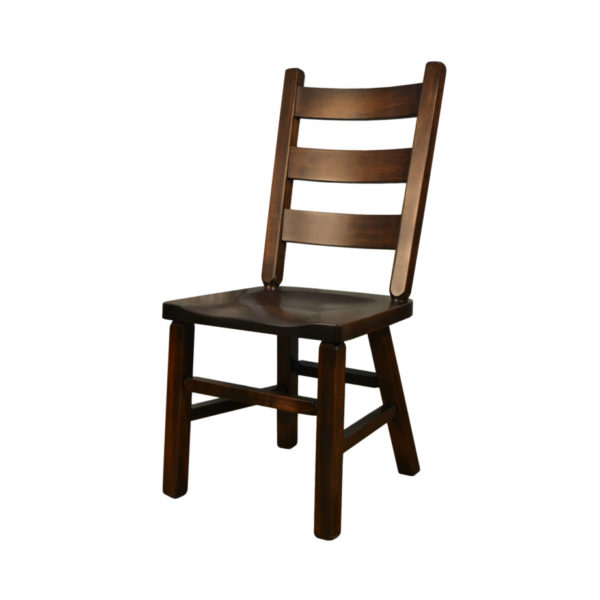 modern farmhouse solid wood lake dining chair
