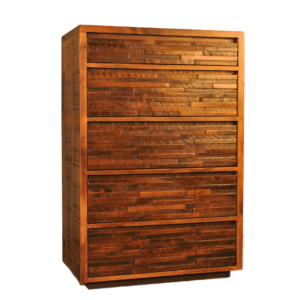 amish made ledge rock chest of drawers in solid wood