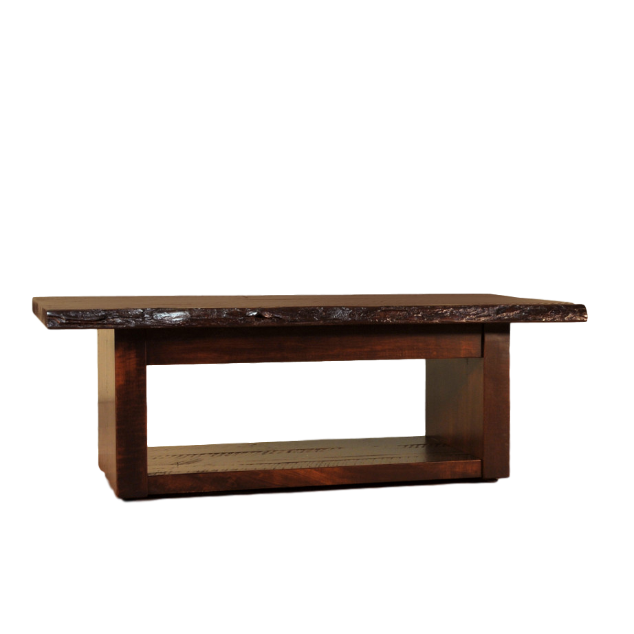 Live edge coffee table home envy furnishings solid wood furniture store Live wood coffee table