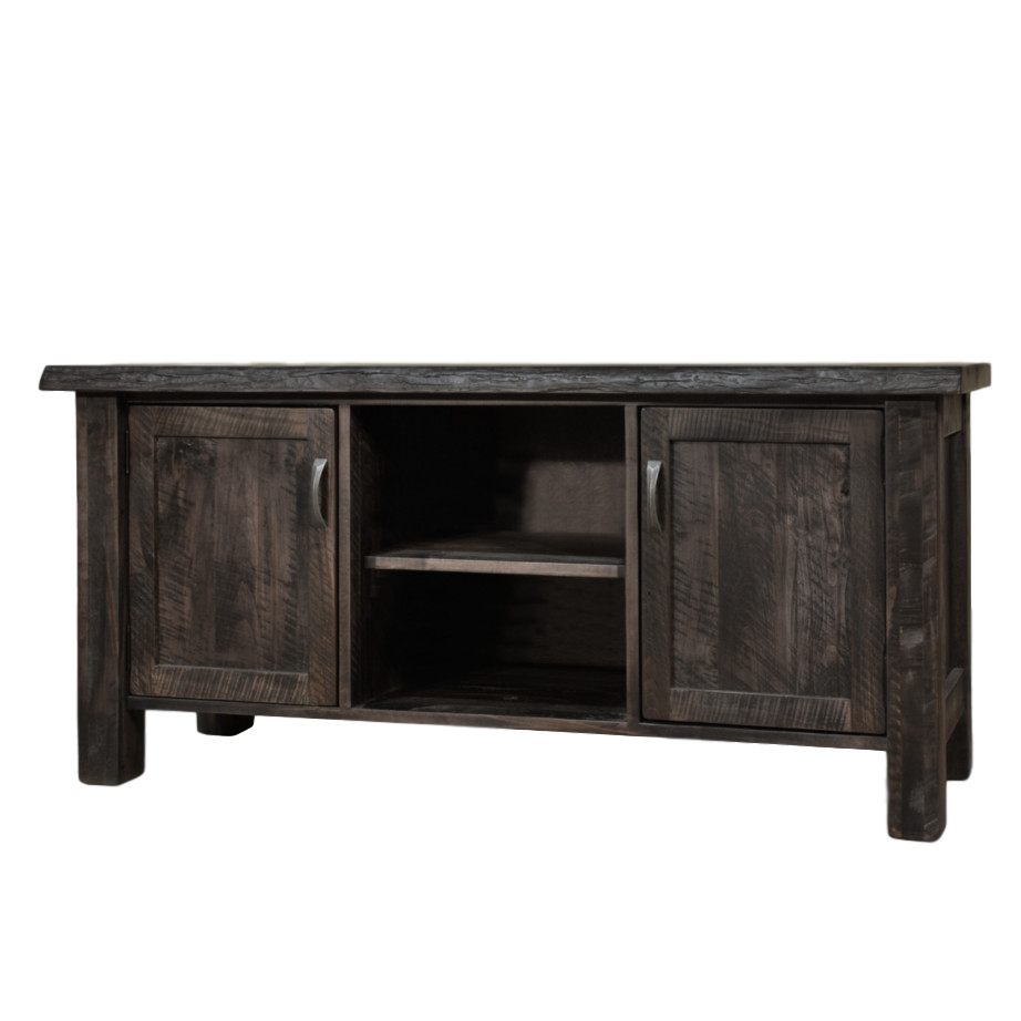 Live Edge Tv Console Home Envy Furnishings Solid Wood