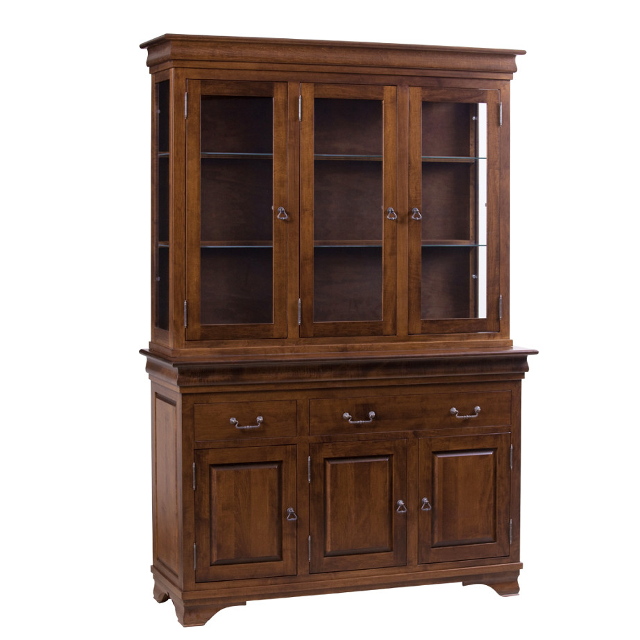 Morgan 3 door buffet and hutch home envy furnishings for Dining room hutch canada
