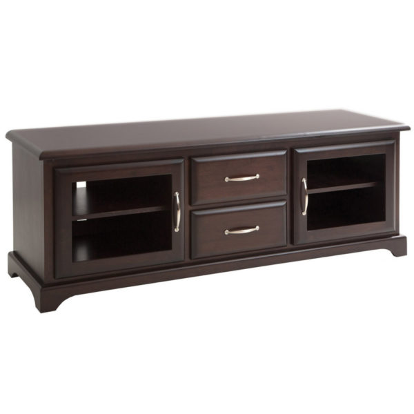 Mackenzie TV console A, TV console,Mackenzie, TV console with Drawers, TV console with glass doors, Made in Canada