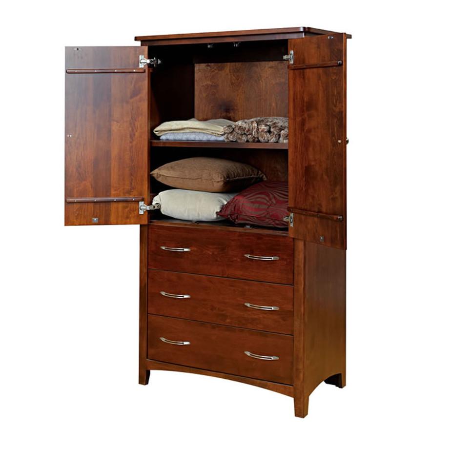 Solid Wood Bedroom Armoire ~ Metro armoire home envy furnishings solid wood bedroom