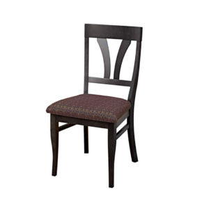 dining room, dining chair, custom, custom furniture, custom built, solid wood, wood, solid maple, solid oak, maple, oak, upholstered, upholstered seat, upholstered dining chair, fabric