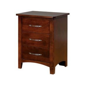 metro night stand, bedroom, bedroom furniture, wood, solid wood, maple, oak, solid maple, solid oak, made in Canada, custom, custom furniture, nightstand