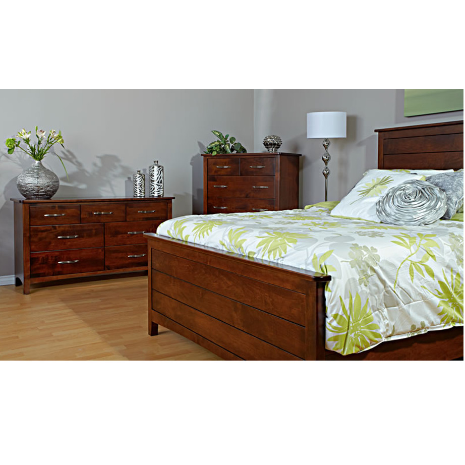 finish furniture darkweb set dark bedroom maple cherry julie