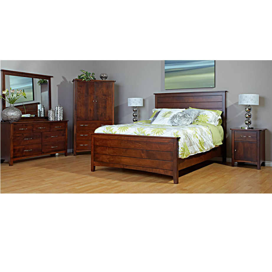 maple bedroom road furniture amish post artisan rustic tanger s