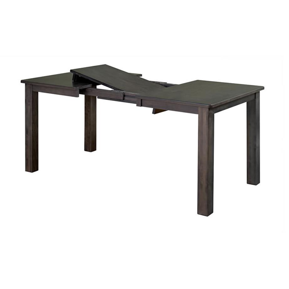 dining room, dining table, custom, custom furniture, custom built, solid wood, wood, solid maple, solid oak, maple, oak, extendable table, leg table