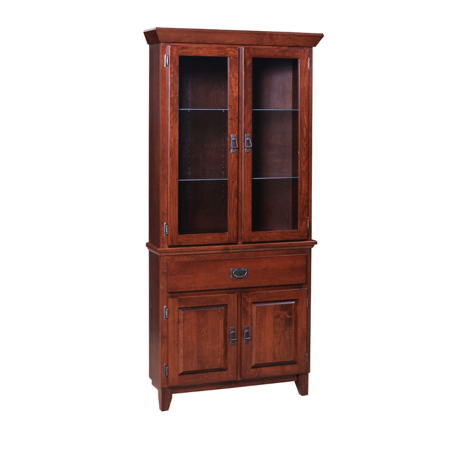 Corner Dining Room Cabinet: Home Envy Furnishings: Solid Wood