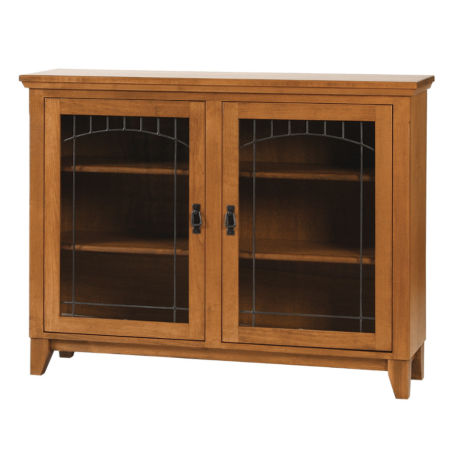 solid wood canadian made mission style den bookcase