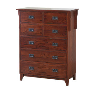Heirloom Mission Chest of Drawers, bedroom, bedroom furniture, occasional, occasional furniture, solid wood, solid oak, solid maple, custom, custom furniture, storage, storage ideas, chest