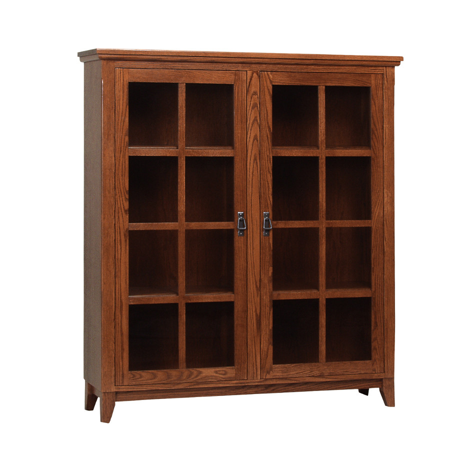 Mission Office Bookcase Home Envy Furnishings Solid
