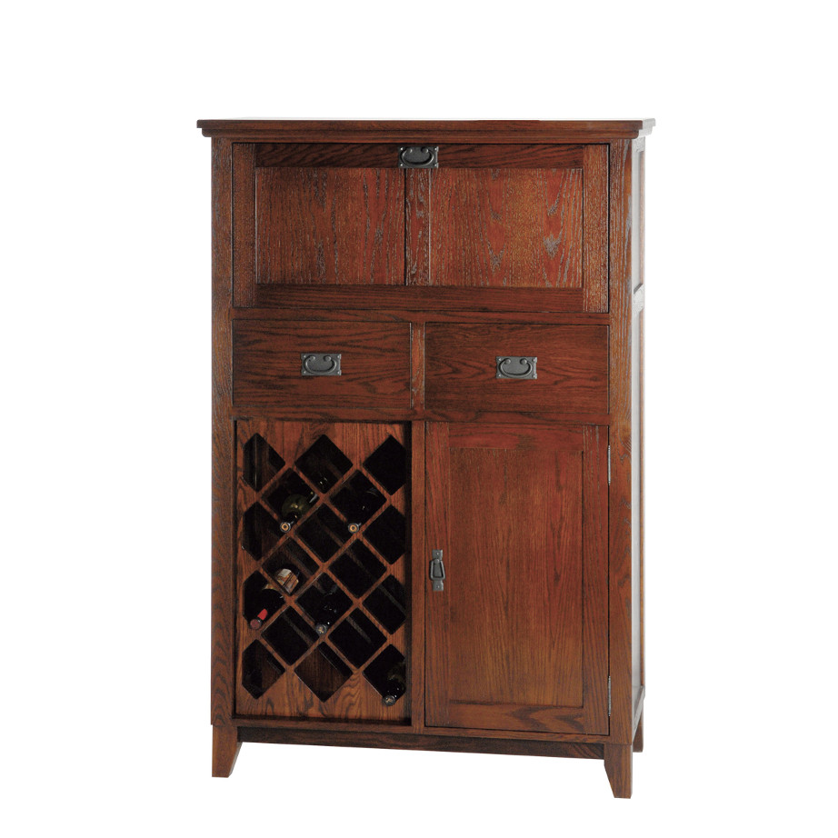 Mission small bar cabinet home envy furnishings solid wood furniture store Home bar furniture canada
