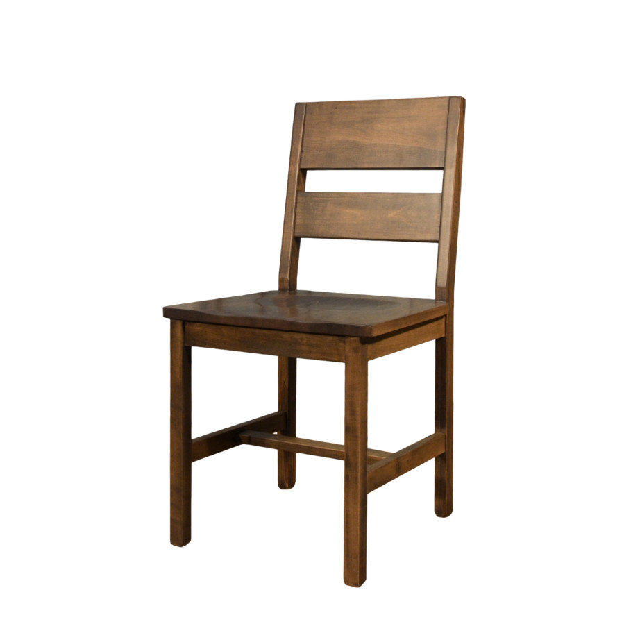 Modern ladder back chair home envy furnishings solid wood furniture store - Ladder back dining room chairs ...