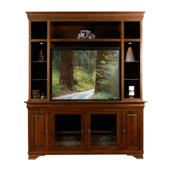 made in canada morgan wall unit in tradtional solid maple wood