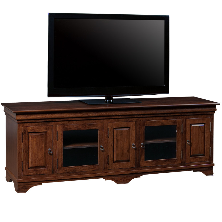 Morgan 83 Tv Console Home Envy Furnishings Solid Wood
