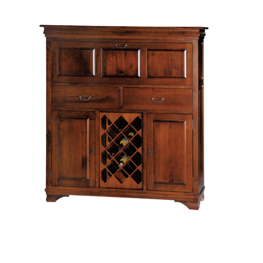 Morgan Bar Cabinet Home Envy Furnishings Solid Wood Furniture Store