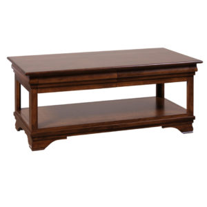 , living room, living room furniture, occasional, occasional furniture, solid wood, solid oak, solid maple, custom, custom furniture, storage, storage ideas, coffee table, morgan coffee table