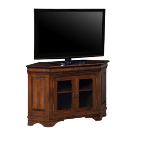 cabinet designed for the corner morgan traditional corner tv console