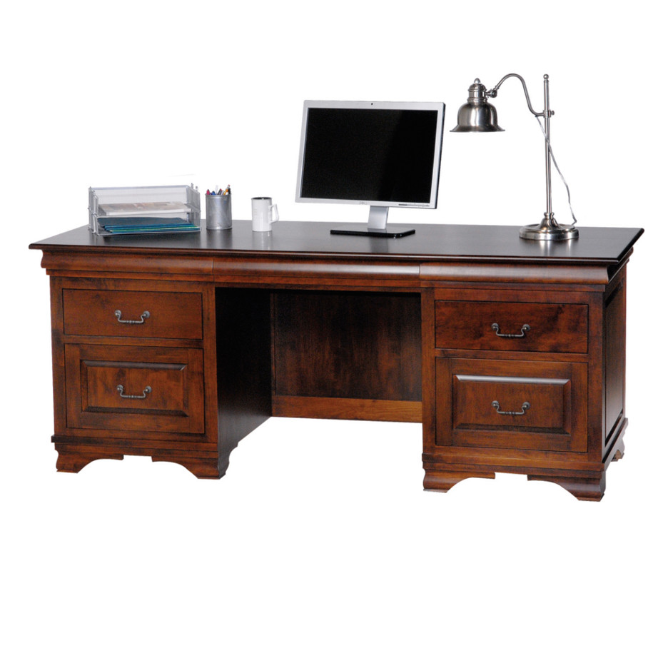 Morgan Executive Desk Home Envy Furnishings Solid Wood