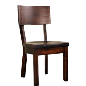 urban farmhouse museum dining chair in solid wood