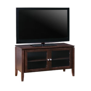 hand crafted in canada custom size newport tv console in small size