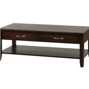 custom built solid wood newport coffee table