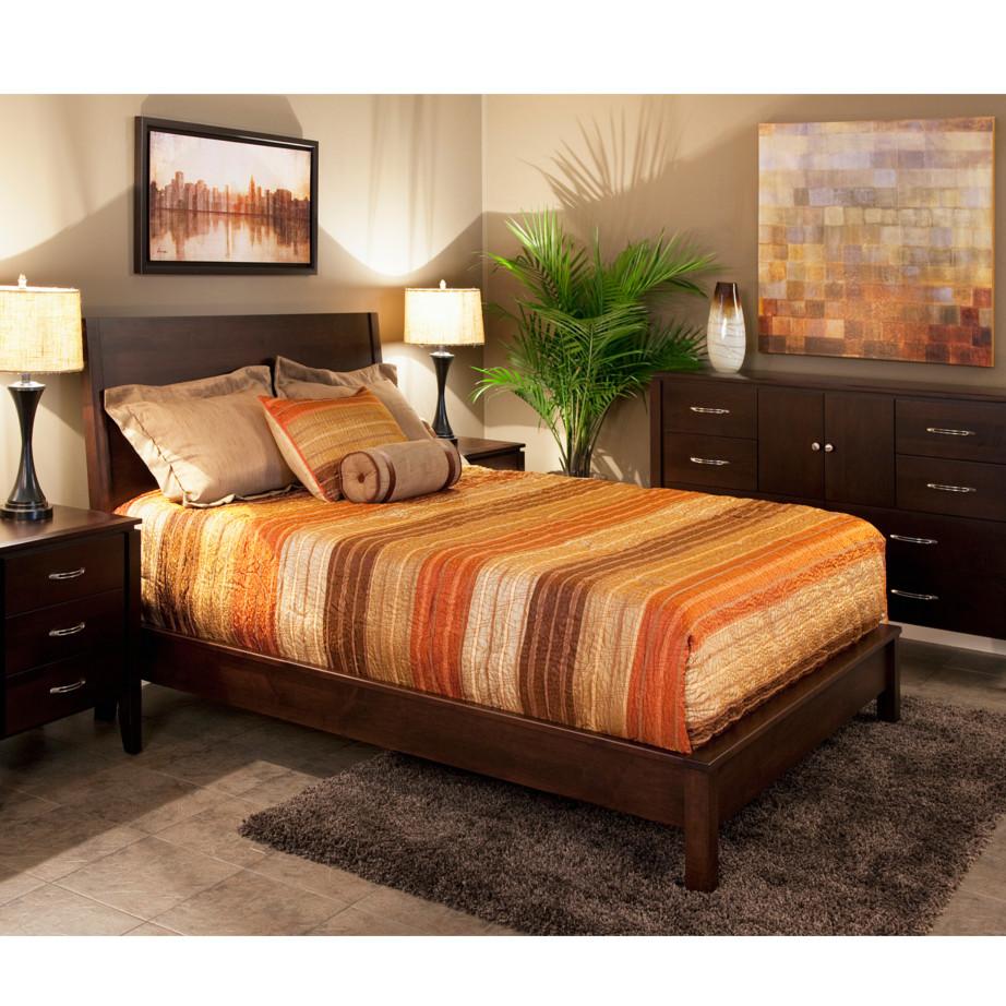 modern solid wood newport bedroom