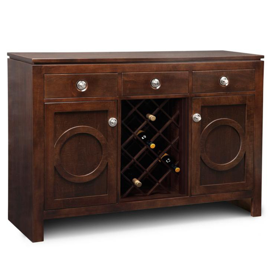 Orlando Wine Sideboard Home Envy Furnishings Solid Wood Furniture Store