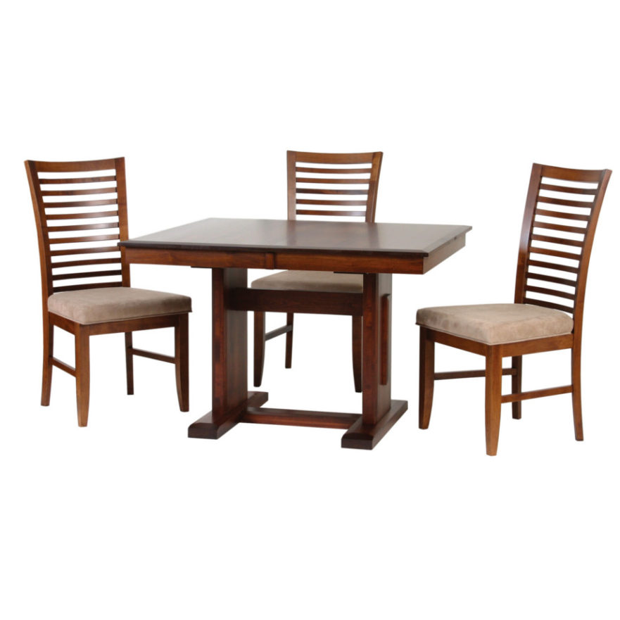 Poco Mission Table Home Envy Furnishings Solid Wood